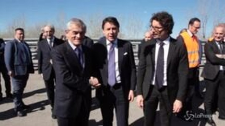 Infrastrutture: Conte, Toninelli e Chiamparino insieme per l'Asti-Cuneo