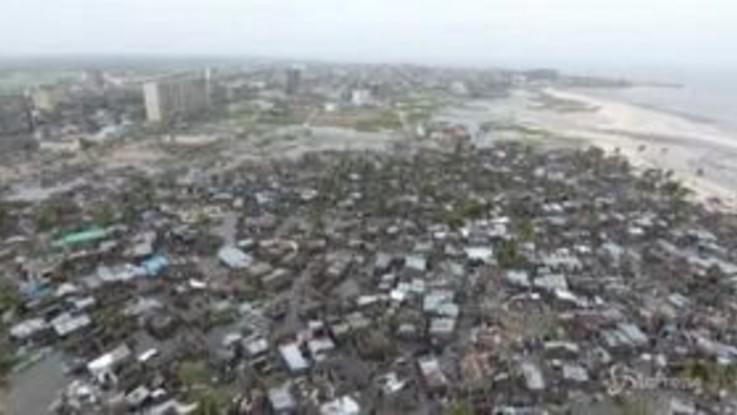Mozambico, la devastazione lasciata dal ciclone Ida