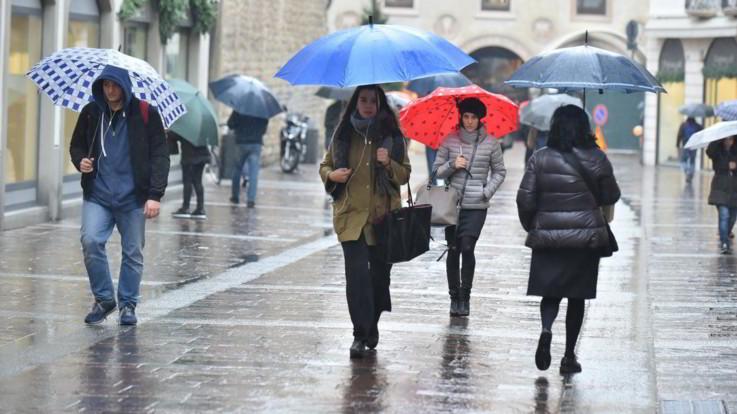 Pioggia in arrivo al Centro-Sud: il meteo del 20 e 21 marzo