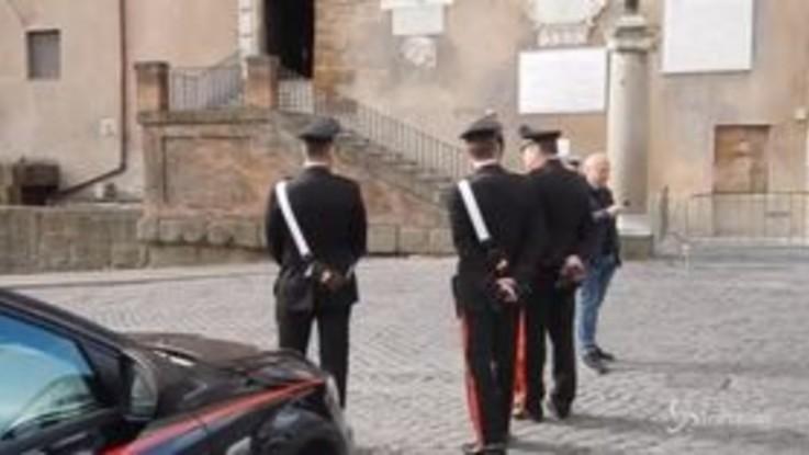 Arresto De Vito: l'arrivo dei carabinieri in Campidoglio