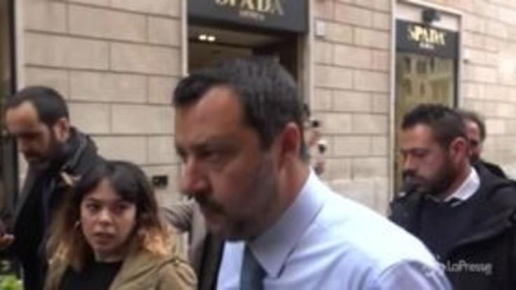 """Caso Diciotti, Salvini: """"In aula ero emozionato"""""""