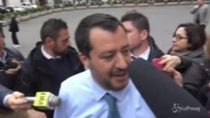 """Salvini: """"Il sequestro della Mare Jonio è un fatto storico"""""""