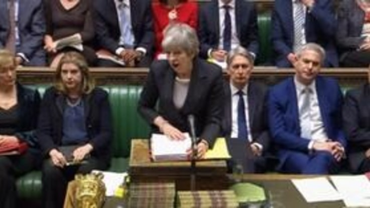 Brexit, lettera di Theresa May per allungare i tempi del divorzio