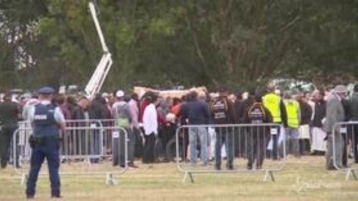 Strage moschee in Nuova Zelanda, primi funerali delle vittime