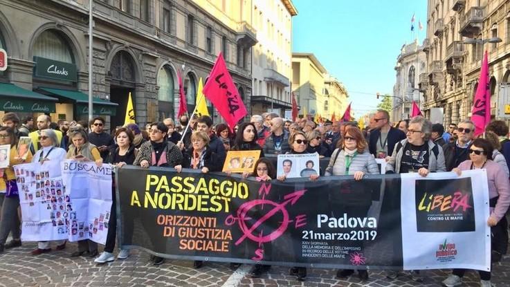Padova scende in piazza contro le mafie: in migliaia insieme a De Raho e Don Ciotti