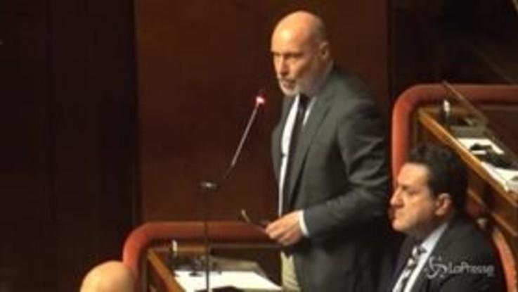 """Sfiducia a Toninelli in Senato, De Falco: """"Si dimetta perché è mancata la dignità"""""""
