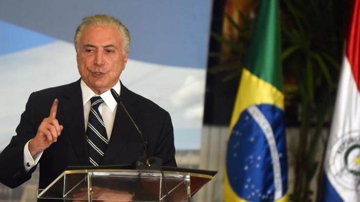 """Brasile, ex presidente Temer arrestato per corruzione: """"Era leader di un'organizzazione criminale"""""""