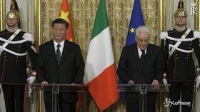 "Italia-Cina, Mattarella incontra Xi Jinping: ""Memorandum cornice per apertura dei mercati"""