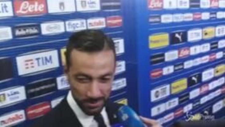 """Nazionale, Quagliarella: """"Serata emozionante"""""""