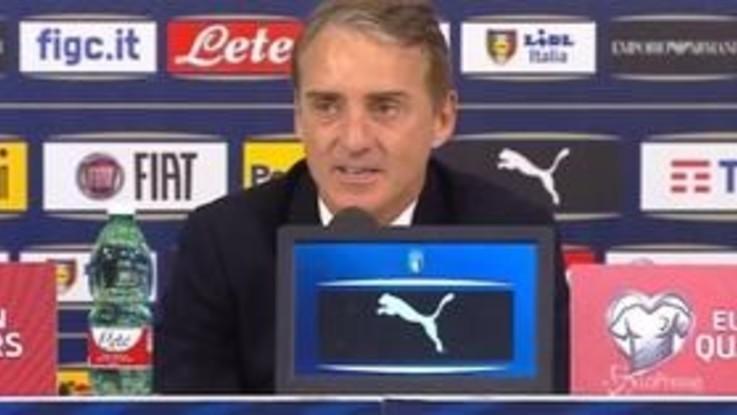"""Nazionale, Mancini: """"Kean e Balotelli potrebbero giocare insieme"""""""