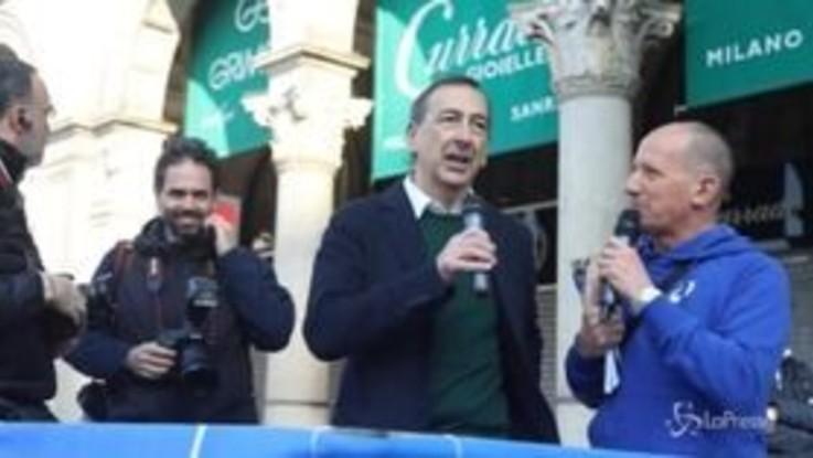 Stramilano, al via la maratona in piazza del Duomo: 60mila persone