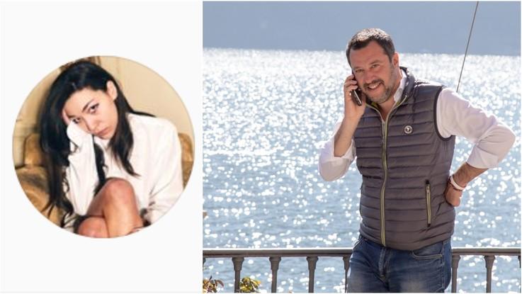 Salvini con la figlia di Denis Verdini: mistero sulla nuova fiamma
