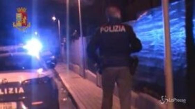 Colpo della polizia alla mafia di Palermo, diversi gli arresti