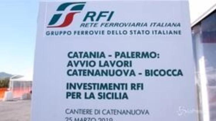 """Palermo-Catania, Gentile (Rfi): """"Oggi si cambia marcia: nel 2021 primo binario veloce"""""""