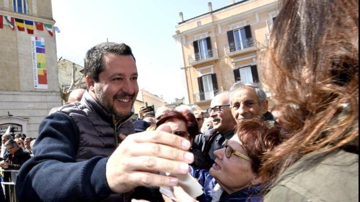Salvini, successo dopo successo a colpi di presenzialismo
