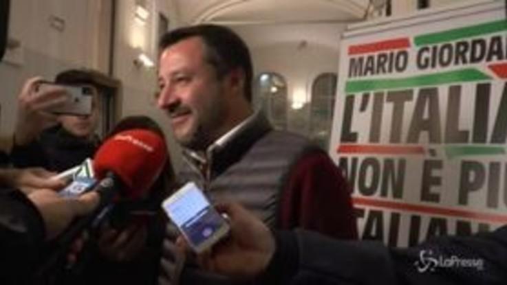 """Salvini: """"Cittadinanza a Ramy? Stiamo facendo tutti gli approfondimenti del caso"""""""