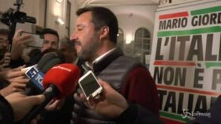 """Salvini: """"Al momento non ci sono elementi per dare la cittadinanza a Rami"""""""