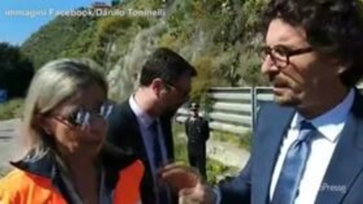 """Messina, Toninelli """"intervista"""" l'esperta sulla frana del 2015"""