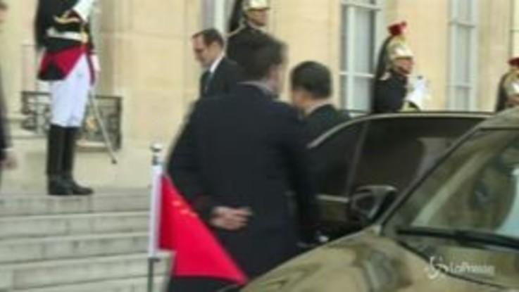 Parigi: Xi Jinping incontra i leader di Francia, Germania e Commissione Europea