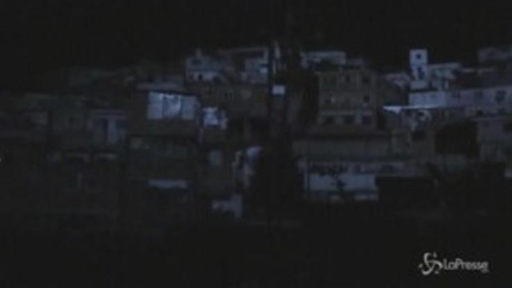 Venezuela, nuovo blackout a Caracas: la città al buio