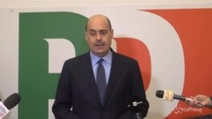 """Pd, direzione approva relazione Zingaretti: """"Ripartiamo insieme"""""""