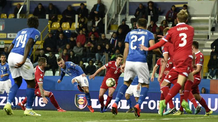 Euro2020, ecco l'Italia che ci vuole: 6-0 al Liechtenstein con doppietta di Quagliarella