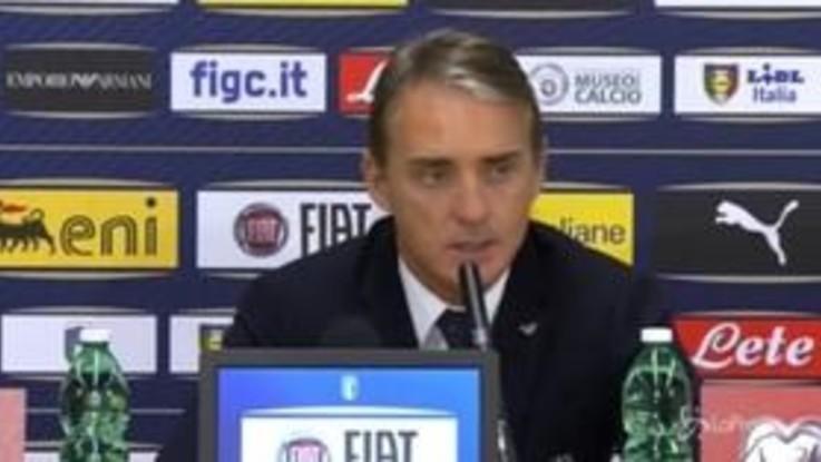 """Nazionale, Mancini: """"Era importante prenderla bene, i gol potrebbero contare"""""""