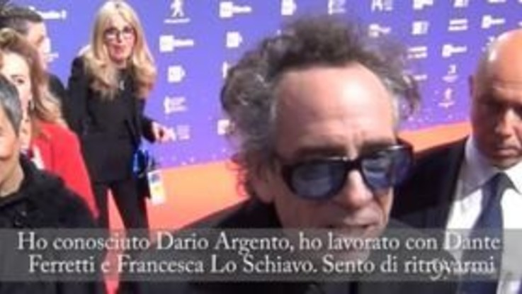 """David 2019, premio alla carriera a Tim Burton: """"In Italia mi sento a casa"""""""