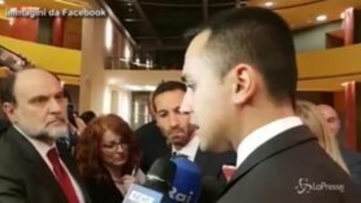 """Dl Crescita, Di Maio: """"Non ci sono problemi nel governo"""""""