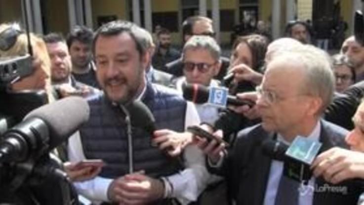 """Salvini: """"Sarei onorato di incontrare il Papa ma non l'ho mai chiesto"""""""