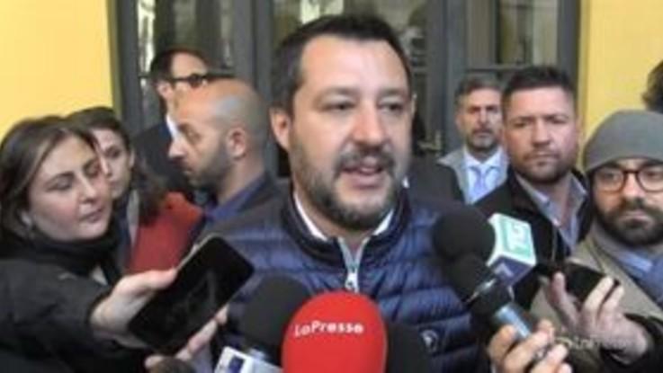"""Salvini: """"San Siro nel cuore ma aspetto lo stadio nuovo"""""""