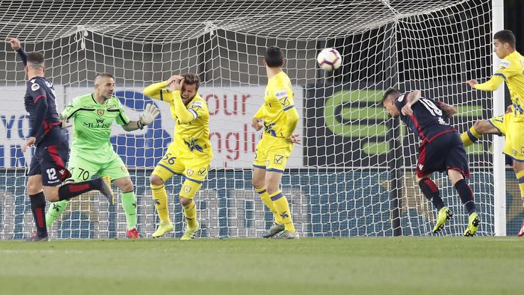 Serie A, Chievo-Cagliari 0-3 | Il fotoracconto
