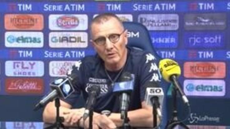 """Juve-Empoli, Andreazzoli: """"A Torino per vincere"""""""