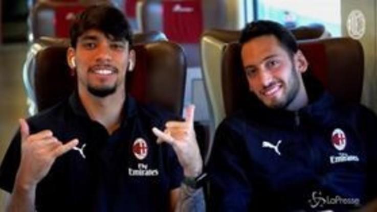 Il viaggio del Milan a Genova per la sfida contro la Sampdoria