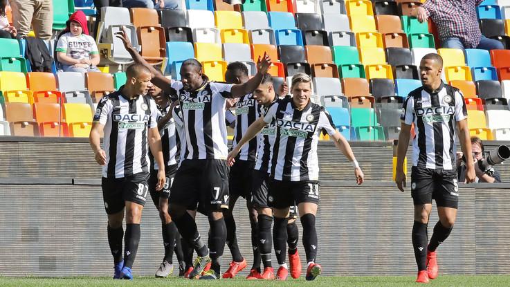 Serie A, l'Udinese ritrova il sorriso con Tudor: 2-0 al Genoa