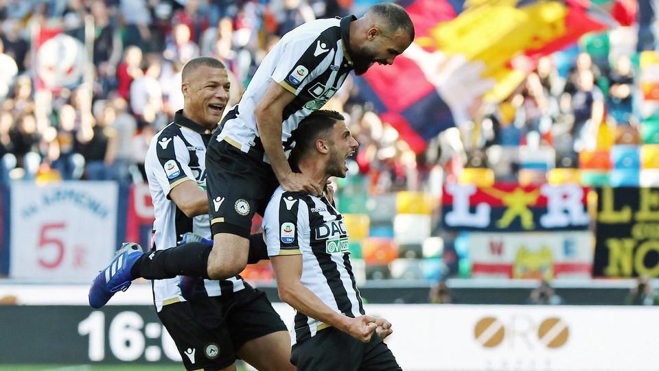 Mandragora esulta dopo il gol del 2-0 ©