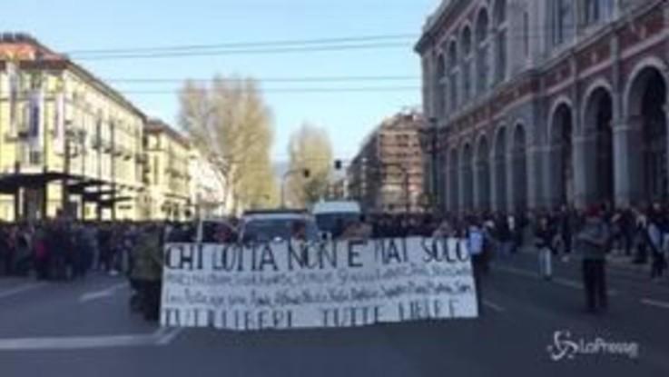 Allerta a Torino per il corteo degli anarchici