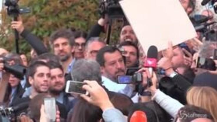 Congresso delle famiglie, applausi e fischi per Salvini