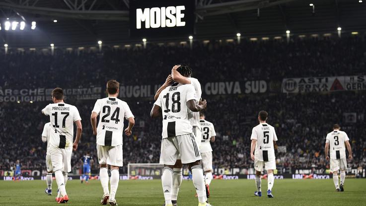 Serie A, Juve a due facce: Kean firma il successo contro l'Empoli, ma che fatica