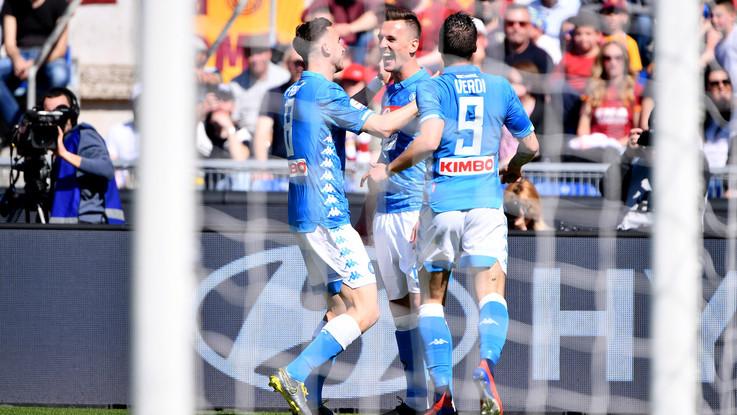 Serie A, Roma-Napoli 1-4 | Il fotoracconto