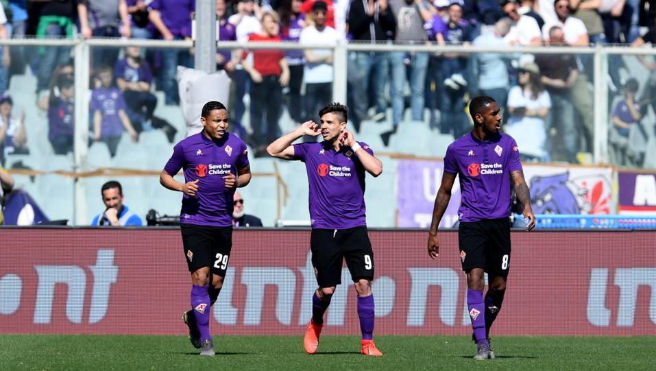Simeone esulta dopo il gol ©