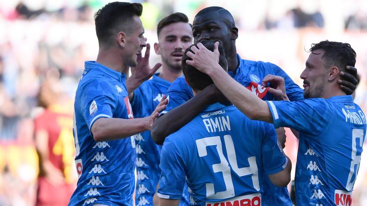 Serie A, Napoli cala il poker contro una Roma da incubo