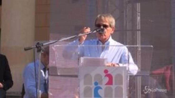 """Verona, l'organizzatore Brandi: """"Uomini seguano insegnamento di Dio o saranno puniti"""""""
