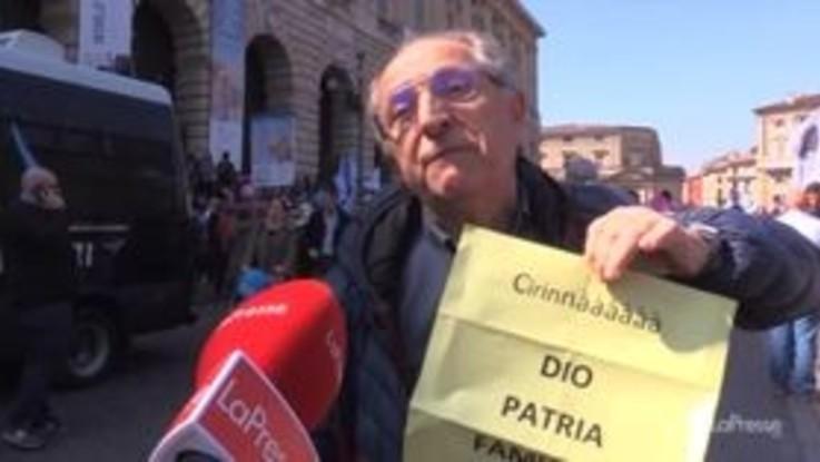 Congresso delle famiglie, le voci dei manifestanti dalla marcia di Verona