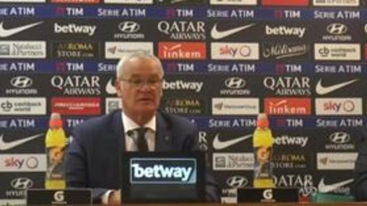 """Crisi Roma, Ranieri: """"Tifosi ci stiano vicini, dobbiamo essere calmi e lavorare"""""""