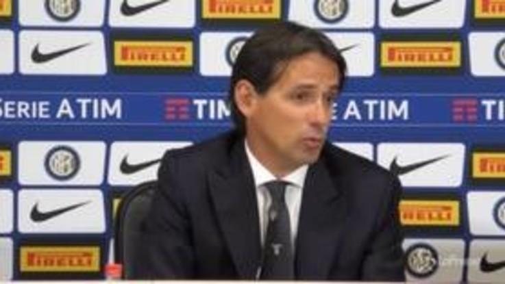 """Lazio, Inzaghi: """"Squadra matura e concentrata, bello ricevere applausi di San Siro"""""""