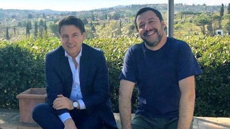 """Dopo la tensione Conte vede Salvini: """"Idee diverse, ma basta polemiche"""""""