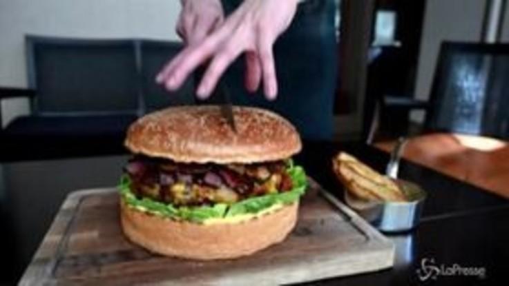 Tokyo, un hamburger da 900 dollari: è dedicato al nuovo imperatore