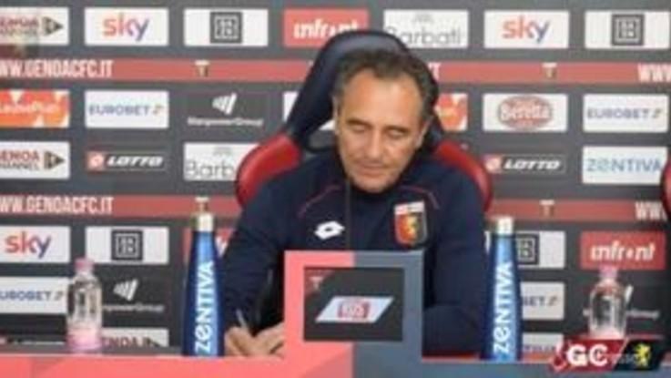 """Genoa-Inter, Prandelli: """"Partita complicata ma siamo pronti"""""""