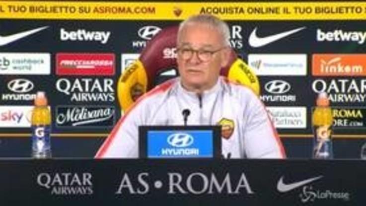 """Roma, Ranieri: """"Sto pensando 25 ore al giorno come aiutare la squadra"""""""